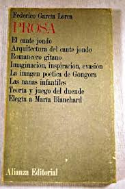 Prosa, Gacía Lorca